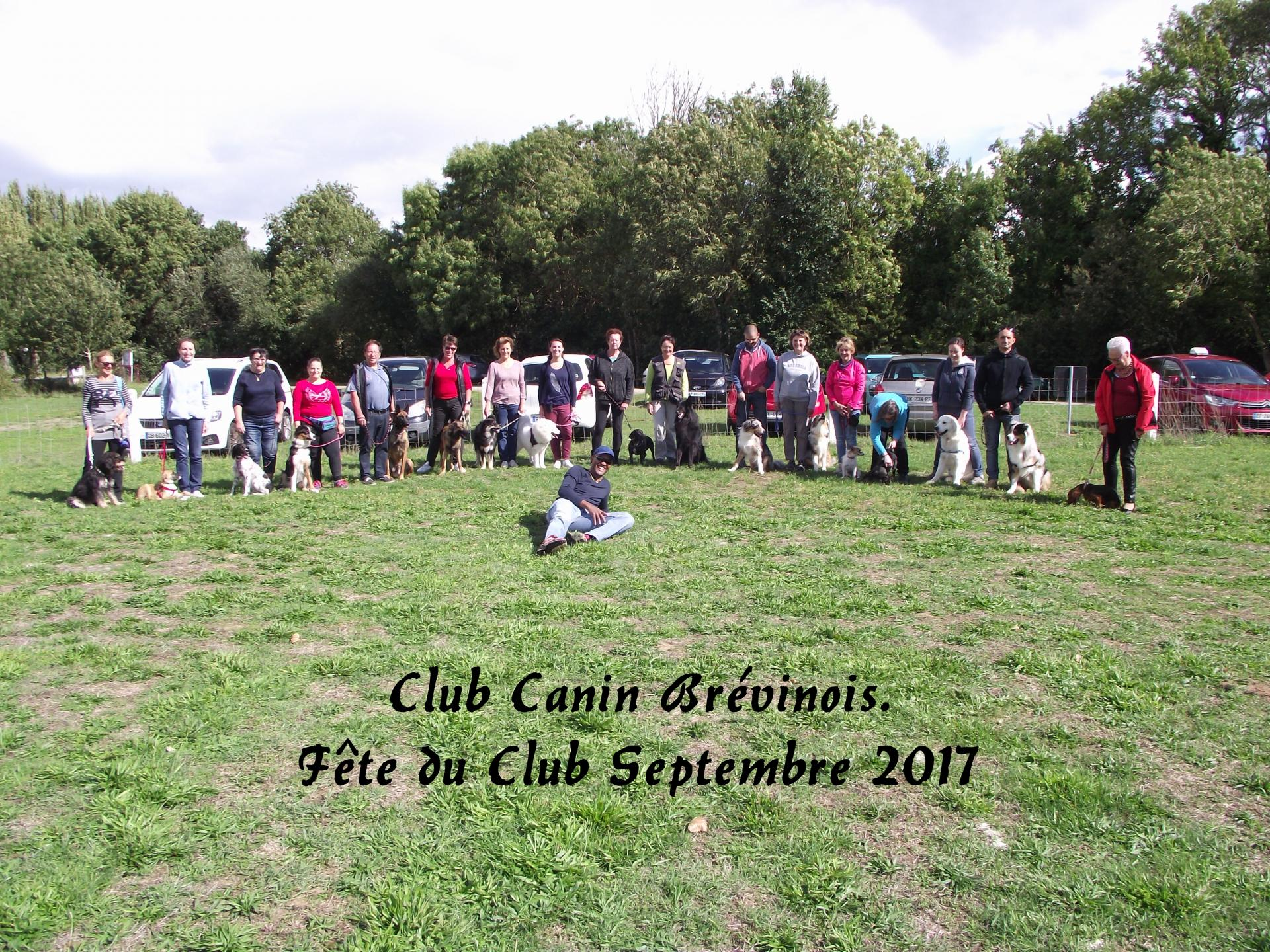 Club canin brevinois fete du club septembre 2017